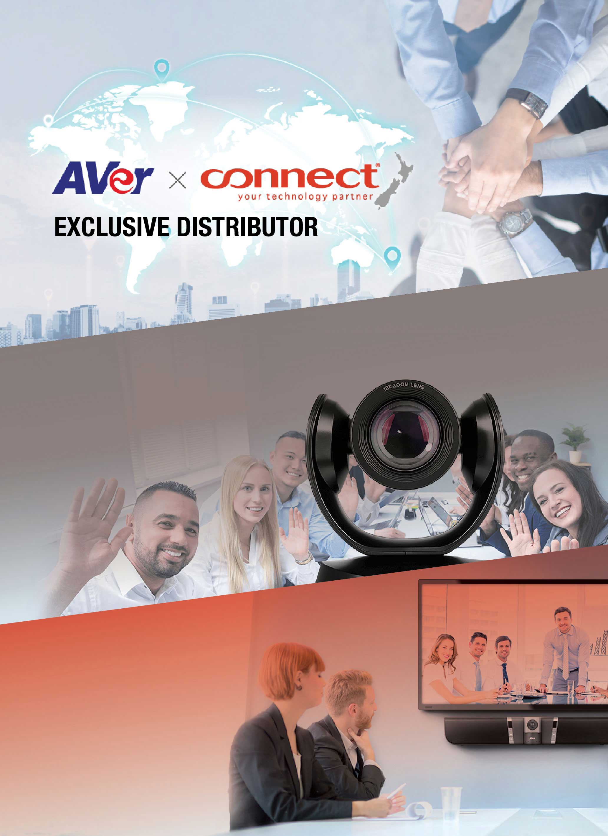 Aver & Connect | Exclusive Distributor